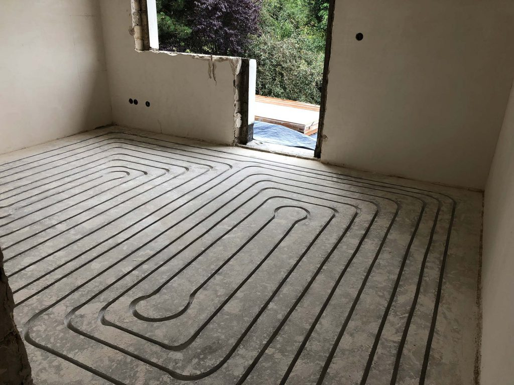 Introbodenzentrum Fußbodenheizung