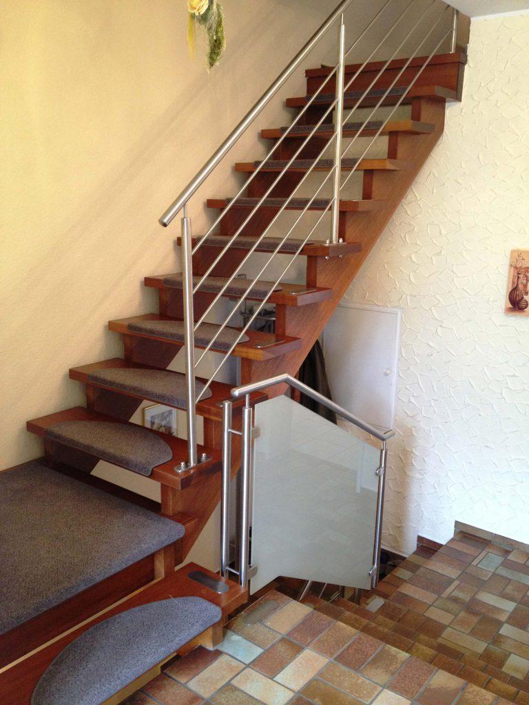 Treppe muss renoviert werden
