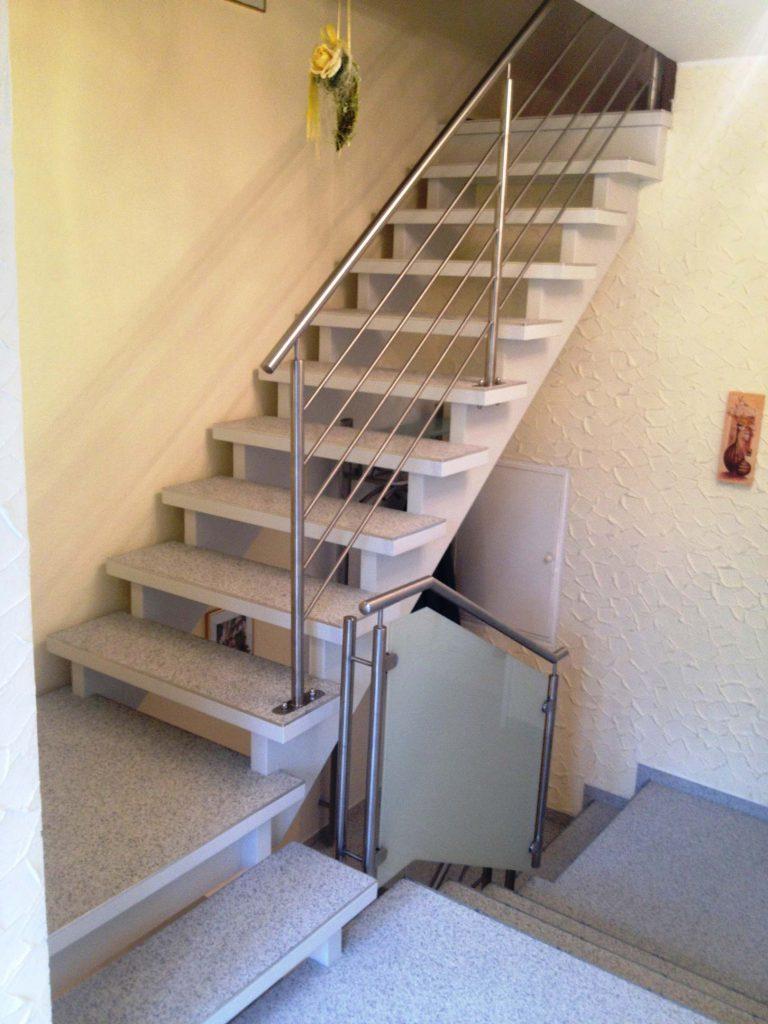 renovierte Treppen