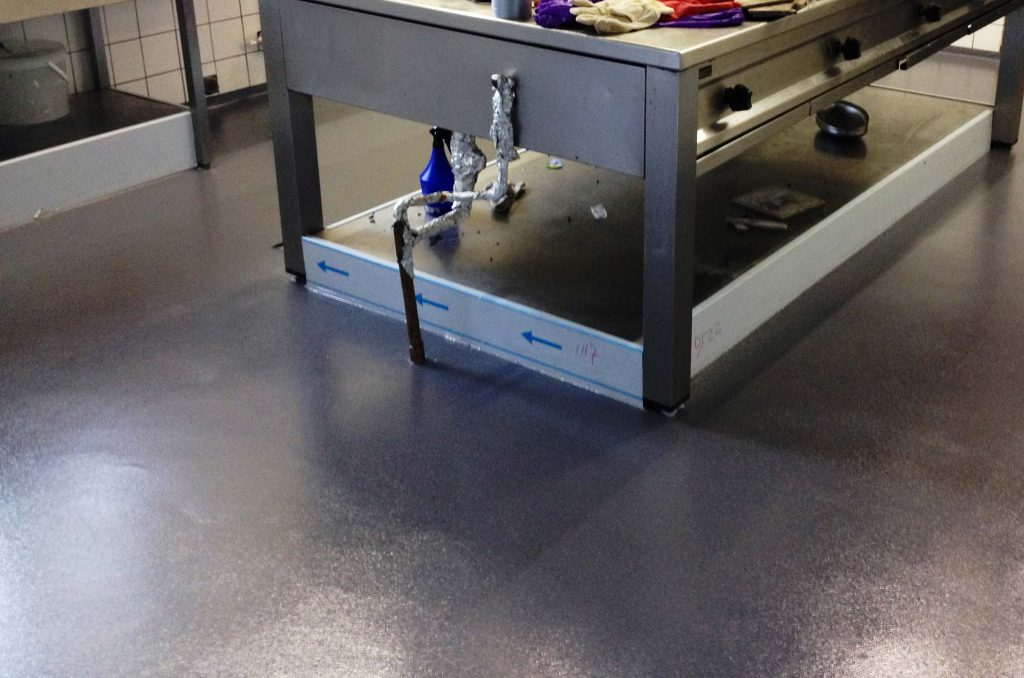 Topdesign-Boden mit Beton-Optik