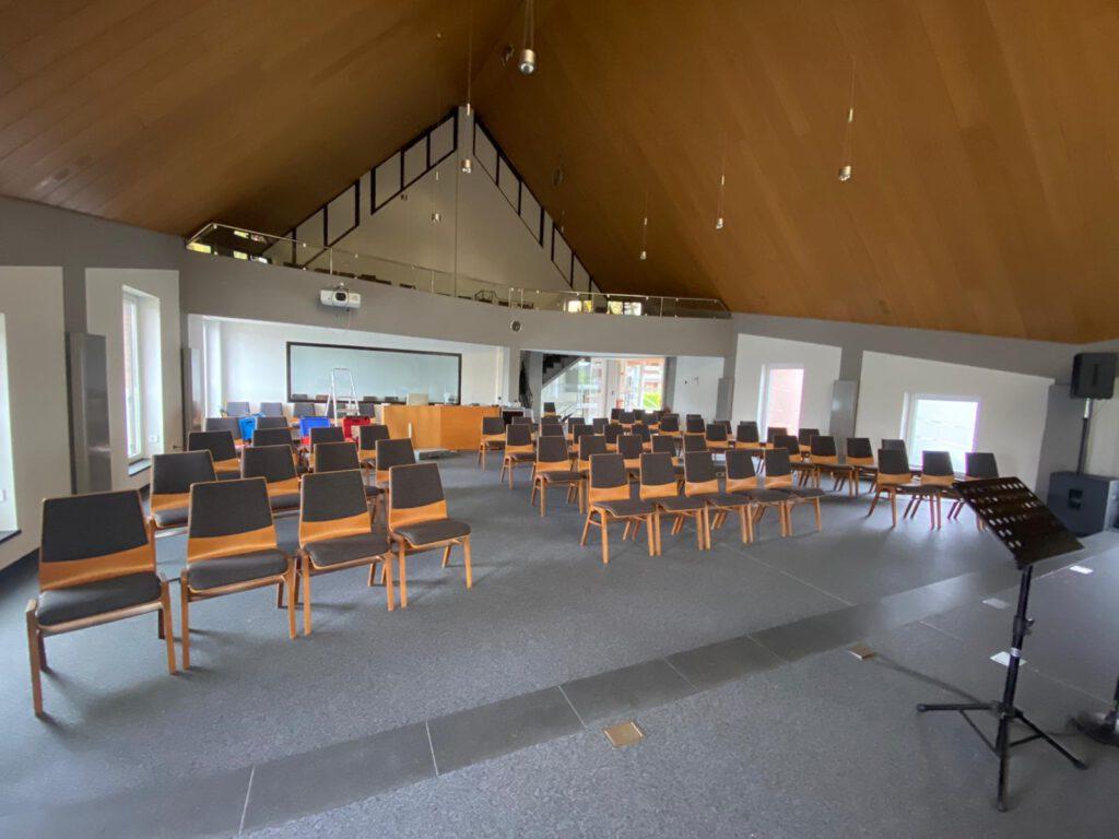 Steinteppich Kirche