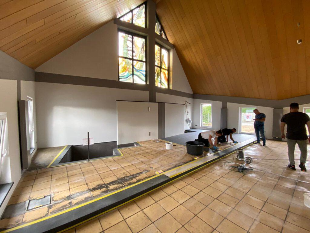 Projektbild Steinteppich